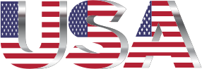 USA-Flag-Typography-Chrome-No-Background-300px